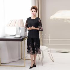 Bộ quần áo cho mẹ họa tiết hoa hồng (MA111)