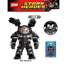 Bigfig Marvel Nhân Vật Hulkbuster War Machine Kèm Mini X1159 Mẫu Mới Ra Siêu Đẹp