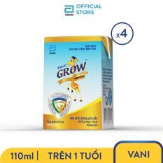 Lốc 4 hộp sữa Abbott Grow 110ml