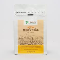 Thái Đức Coffee – Dòng Cafe Truyền Thống Rang Xay 250g – Cafe Sạch Nguyên Chất 100%