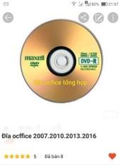 đĩa ocffice tổng hợp 2007-2010-2013-2016