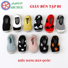 Giày Bún Tập Đi Cho Bé Kiểu Dáng Hàn Quốc 1-6 Tuổi