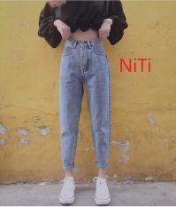 Quần baggy nữ jean cao cấp NiTi đủ size S, M, L siêu đẹp, siêu hot-NL.CTB008