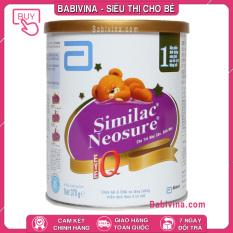 [CHÍNH HÃNG] Sữa Neosure 370g   Dành Cho trẻ Sinh Non Nhẹ Cân Từ 0-12 Tháng Tuổi   Date Mới Nhất   Giá Tốt Nhất