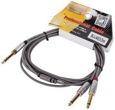 Dây Soundking Hai Đầu 1/4 TS Với Một Đầu 1/8 TRS ( Dây Phát Nhạc 1 Đầu 6 Ly ,1 Đầu 3.5mm )