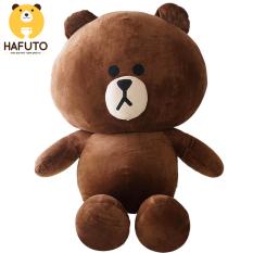 Gấu bông Hafuto | Gấu brown to khổ vải 1m size thật 80cm màu socola quà tặng cho bạn gái | đồ chơi trẻ em