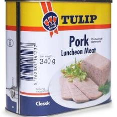 thịt hộp tulip pork 340g