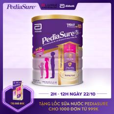 [GIẢM 40K+TẶNG LỐC NƯỚC 80K ĐƠN 999K]Lon sữa bột Pediasure B/A hương vani 1.6kg