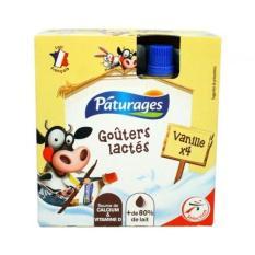 Váng sữa Páturages vị vani dạng túi 340g