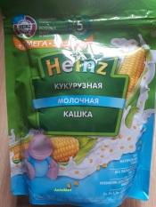 Bột ăn dặm Heizn Nga vị ngô sữa cho bé từ 5 tháng – 200g (bot an dam heizn nga, bot heizn)