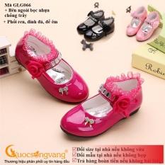 Giày đính đá bé gái giày bé gái thêu ren GLG066 Cuocsongvang