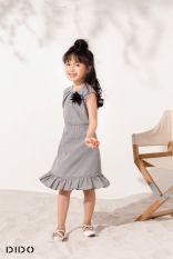 Váy xếp ly cổ bé gái DIDO FD4420