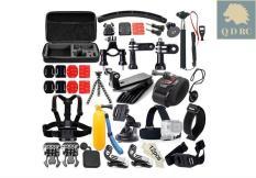 Bộ phụ kiện 50 món in 1 cho GOPRO XIAOMI SJCAM máy quay hành động action cam tặng kèm hộp đựng cao cấp N55