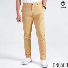 Quần Kaki Nam Trơn Basic ROUGH Outfit Chất Kaki Dày Dặn, Co Giãn