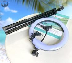 [Bộ Đèn 26cm, 30cm] Đèn livestream bán hàng, make up kèm gậy 2m1, giá đỡ điện thoại size 26cm, 30cm