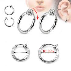 Bông tai không cần bấm lỗ 10 ly (1 cặp) có đến 15 ngày đổi trả nếu hàng không giống hình