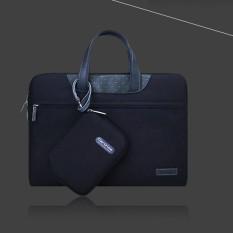 Túi Xách + Túi Đựng Sạc Cartinoe For Laptop – Macbook – Màu Đen