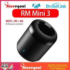 Niceegoal Bản gốc Broadlink RM Mini 3 Điều khiển từ xa không dây WiFi + IR + 4G Điều khiển từ xa Tự động hóa nhà thông minh Phổ hồng ngoại WiFi với cáp dữ liệu
