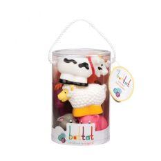 Bộ đồ chơi nhà tắm – thú nông trại BATTAT BT2603Z