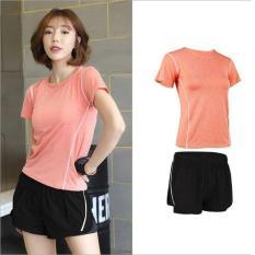 Set quần áo tập Gym nữ, Quần áo thể thao nữ chất siêu thoáng mát