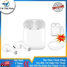 Hàng Tốt Tai nghe bluetooth không dây 5.0 Hai bên tai nghe gọi thoại,âm thanh chất lượng bass cực đã 3D âm vòm kích thước nhỏ mini thể thao đi bộ android và iPhone đều có thể dùng