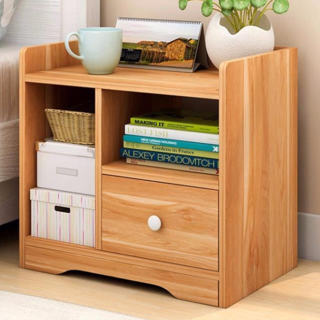 [HOT sale] Tủ đầu giường - Tủ gỗ để đồ - Tủ gỗ đầu giường 2 ngăn kéo, 1 ngăn...