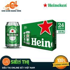 [Siêu thị Lazada] – Thùng bia 24 lon Heineken lon thường
