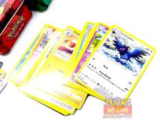 (MUA 1 TẶNG 1 – FREE SHIP ) Hộp Thẻ Bài POKEMON Cao cấp – Bộ thẻ bài pokemon hộp kim loại – Combo Túi thẻ bài pokemon – Bộ card pokemon cao cấp
