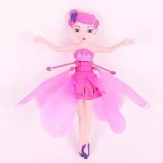 Đồ chơi búp bê nàng tiên bay màu hồng cho bé gái