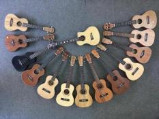 [Miễn Phí VC Toàn Quốc] Đàn Ukulele Concert 23 tặng kèm bao đựng , phím gãy , giáo trình hướng dẫn cho người mới tập chơi