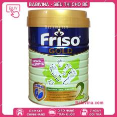 [CHÍNH HÃNG] Sữa Friso Gold Nga 2 800g | Dinh Dưỡng Tối Ưu Dành Cho Trẻ 6-12 Tháng Tuổi | Giá Tốt Nhất, Date Mới Nhất | Babivina