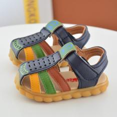 Sandal tập đi dép tâp cho bé trai và bé gái đế chống trơn trượt, sản phẩm có độ bền cao, chất lượng tốt
