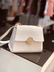 Túi xách nữ túi ngọc trinh khóa tròn trời trang sang trọng hàng đẹp CKTRON01