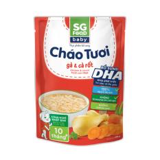 Cháo tươi Baby Sài Gòn Food Gà & Cà rốt 240g – Giới hạn 5 sản phẩm/khách hàng
