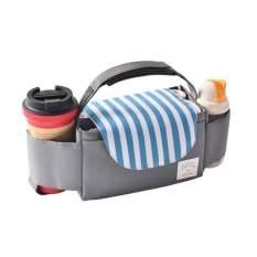 [SẢN PHẨM CHO MẸ & BÉ]Hàng Ba Lô Treo Xe Đẩy- Có nhiều ngăn tiện ích. có thể treo xe đẩy, túi treo cũi, túi xách. Có thể đựng bỉm, bình sữa, hộp sữa, giấy lau.