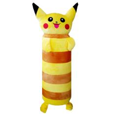 Gối ôm cao cấp Pikachu 60cm màu vàng hàng VNXK dành cho bé-GONTE008 (nhà bán hàng Diabrand)