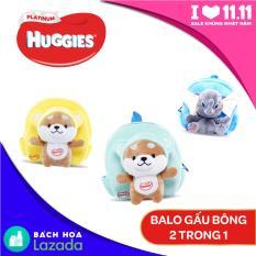 [Quà tặng không bán] – Balo thú bông 2 trong 1 (giao ngẫu nhiên) – gift Huggies platinum