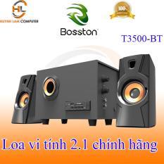 Loa vi tính 2.1 Bosston T3500-BT tích hợp Bluetooth Usb thẻ nhớ âm thanh mạnh mẽ sôi động như ở bar VSP phân phối