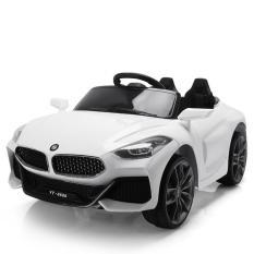Xe ô tô điện trẻ em BDQ-Z4 tự lái và điều khiển từ xa cho bé từ 1 đến 6 tuổi (Đỏ, Cam, Trắng)