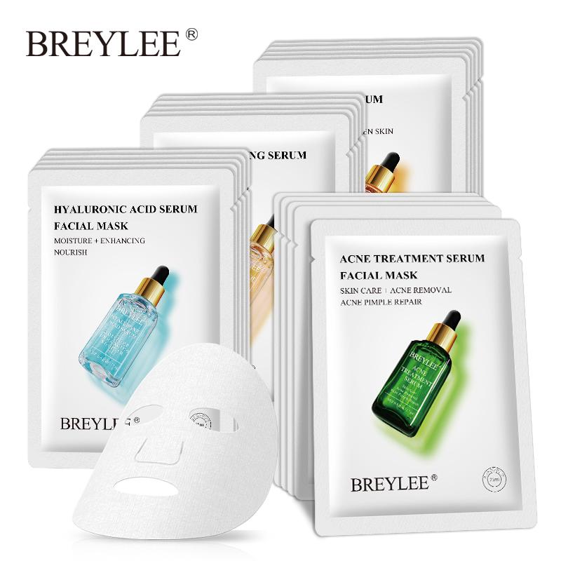 BREYLEE Mặt Nạ 25ml Chứa Collagen Và Vitamin C Làm Trắng Da Và Hỗ Trợ Giảm Mụn