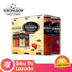 Lốc 6 Lon Cao Strongbow Cider Đặc biệt 4 Vị (330ml x 6 Lon)