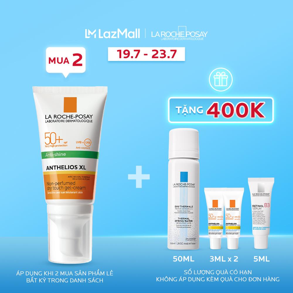 Kem chống nắng cho da dầu giúp kiểm soát nhờn và chống tia UVB & UVA SPF 50+ La Roche...
