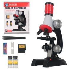 Bộ đồ chơi kính hiển vi quang học cho bé Microscope 1200x C2121