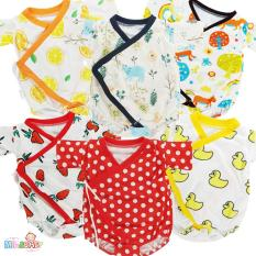Bộ Yukata Nhiều Hình Ngộ Nghĩnh cho bé yêu + Tặng kèm vớ vải đi cùng – Mihababy – YU_MIX