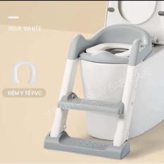 Bệ thu nhỏ bồn cầu có thang đi vệ sinh cho bé V-BABY W2S