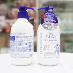 Sữa Dưỡng Thể Trắng Da Chống Nắng Hatomugi SPF 31/PA+++ Nhật Bản