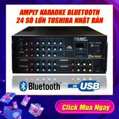 Amply 24 Sò Japan , Ampli Bluetooth Sân Khấu Karaoke Hội Thảo Gia Đình Cali.D&Y PA-506C đánh khỏe