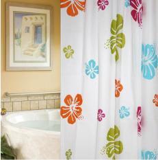 Rèm cửa nhà tắm không thấm nước, kèm móc treo (rộng 1m8, dài 2m)