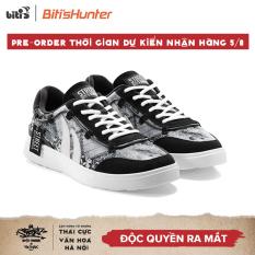 Giày Thể Thao Nam Biti's Hunter Street – Hanoi Culture Patchwork Concrete Grey DSMH02505DEN