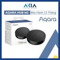 Bộ điều khiển trung tâm Aqara Hub M2 Zigbee 3.0 tương thích HomeKit, cổng LAN RJ45, tích hợp loa, tích hợp hồng ngoại